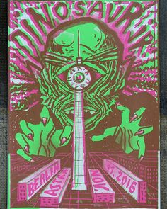 Poster for tonight's sold out show in Berlin at  Astra by Hannes at Rainbow Posters!