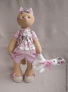 Toy animals, handmade.  Fair Masters - handmade Molly.  Handmade.