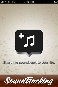 SoundTracking - create a soundtrack for your life
