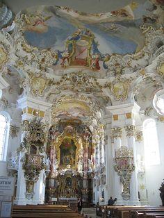 Wies altar - ヴィースの巡礼教会 - Wikipedia