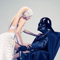 Lap dance. YES! Just breathe heavy for me, Darth.