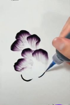 Finger painting for adults. Pencil Art Drawings, Art Drawings Sketches, Finger Painting, Food Painting, Painting Videos, Painting Techniques, Painting Art, Acrylic Art, Acrylic Colors