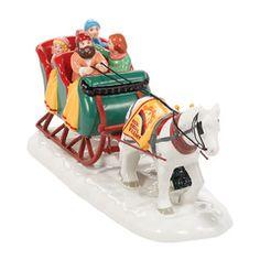 Sleigh Ride, Original Snow Village (#2080)