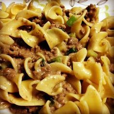 Creamed Beef Sauce With Noodles recipe snapshot