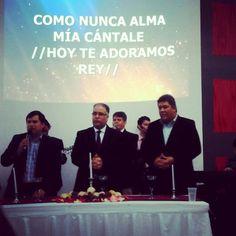 Excelente servicio de Santa Cena hoy en la Iglesia AMMI Maracaibo