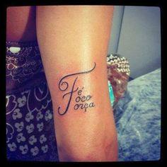 tatuagem força foco e fé - Pesquisa Google