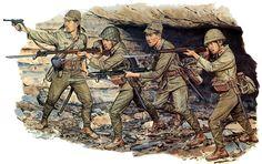 Esercito Imperiale Nipponico - Fanteria ad Iwo Jima, 1945