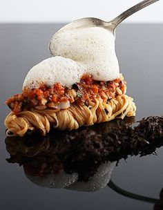 Lobster Bolognese with Fresh Capellini and Brown Butter Truffle Froth -  Αστακομακαρονάδα αλλιώς