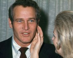 JANUARY 26, 1969- New York City – Paul Newman and Joanne Woodward at Rainbow Room for the 1969 new york Film Critics Awards. Ph. Ron Galella