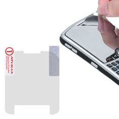 Insten Mirror LCD Screen Protector for Blackberry Curve 8520/ 8530 #1128512