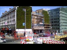 Dezeen. Aug 2013. London's largest living wall.