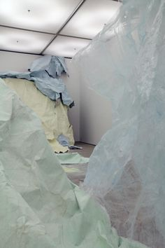 Karla Black, Turner Prize: Baltic Centre for Contemporary Art, (installation view), 2011, Gateshead, UK via Modern Art