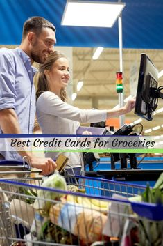 The 6 Best Credit Cards for Groceries in 2018 Get Out Of Debt, Best Credit Cards, Some Cards, Consumerism, Saving Money, Investing, Counter, Fun, Shopping