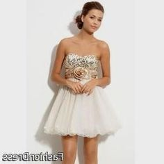 Nice gold party dresses for juniors 2017-2018