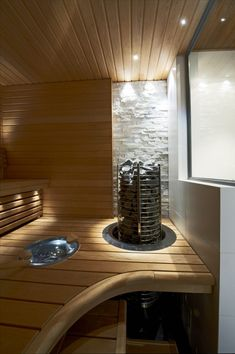 Saunagalleria I SUN SAUNA Oy I Ideoita saunaremonttiin, saunaideat Sauna House, Sauna Design, Finnish Sauna, Saunas, My Dream Home, Decoration, Luxury Homes, Blinds, Sweet Home