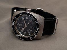 Vostok Amphibia custom automatik #diverwatch