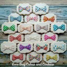 Bow Tie Cookies   Love Bug Cookies