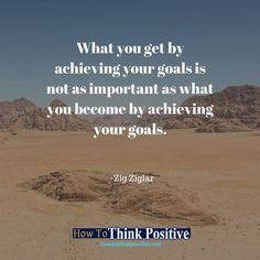 What you get by achieving your goals is not as important as what you become by achieving your goals. #life #happy #quotes #inspiration #motivation #love #win #sad #quoteoftheday #success #like #words #poetry #hope #wisdom #knowledge #loa #goodvibes Don't forget to check out what we recommend to help you get out of negative thinking. See our profile link at @howtothinkpositive