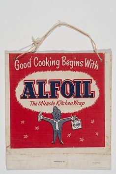 "An ""Alfoil"" Ekka showbag from the"