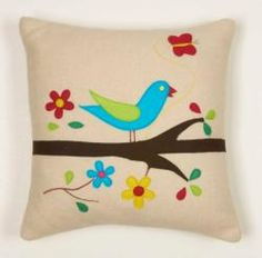 not sure the color works @Overstock - Add a splash of color to your decor with this wool throw pillow. This decorative pillow is perfect for both formal and informal settings. http://www.overstock.com/Home-Garden/Pretty-Bird-Decorative-Wool-Pillow/6332289/product.html?CID=214117 $43.99