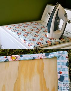 123. If Your Room is Too #Small for an Ironing #Board, Make a DIY Version That Fits on Top of the #Dryer - 149 Mind-blowing Home #Organizing Hacks #Every Girl Must Know ... → #Lifestyle #Supplies