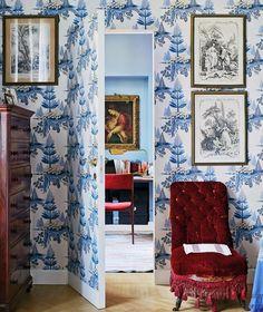 thefoodogatemyhomework: 1) Great wallpaper. 2) JIB DOOR. I just...