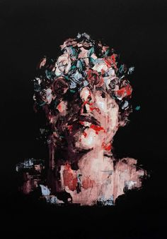 On February Spanish artist and muralist Gonzalo Borondo will unveil his most ambitious show to date titled, 'ANIMAL' at RexRomae Gallery, Lon. Street Art News, Street Artists, Expressionist Portraits, Never Grow Old, Damien Hirst, Spanish Artists, Lovers Art, Screen Printing, Contemporary Art
