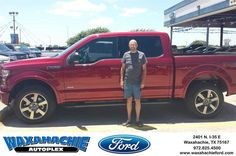 https://flic.kr/p/K6duzi   Happy Anniversary to Chuck on your #Ford #F-150 from Patrick Pennington at Waxahachie Ford!   deliverymaxx.com/DealerReviews.aspx?DealerCode=E749