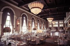 Liberty Grand in Toronto sets a gorgeous scene for a wedding reception  | Wedding Photography | www.newvintagemedia.ca