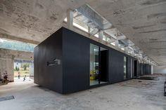 Galerie und Künstlerateliers in Shenzhen / Zickzack in der Ruine - Architektur und Architekten - News / Meldungen / Nachrichten - BauNetz.de