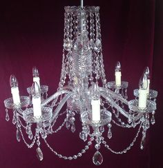 1950s bohemian chandelier antique crystal chandeliers chandelier restoration completed chandelier restoration by kings chandelier services ltd aloadofball Image collections