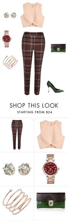 """Untitled #212"" by keishaanngraham ❤ liked on Polyvore featuring River Island, Finders Keepers, April Soderstrom Jewelry, Michael Kors, BCBGeneration, Marni and Nicholas Kirkwood"