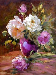 Hedi Moran  / Late Afternoon Roses