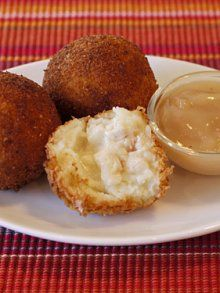 The Easiest Leftover Thanksgiving Recipe: Potato Turkey Balls from Weelicious.com