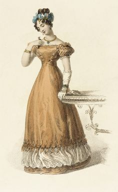 Fashion Plate (Evening Dress) | LACMA Collections 1826