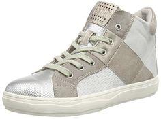 Marco Tozzi 25201, Damen Hohe Sneakers, Grau (Quartz Antic Com 213), 36 EU (3.5 Damen UK) - http://on-line-kaufen.de/marco-tozzi/36-eu-marco-tozzi-25201-damen-hohe-sneakers