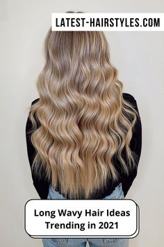 Browse our collection of long wavy hair ideas! We're showing off drop-dead beautiful wavy hairstyles for long hair. (Photo credit Instagram @alilovescolour) Daily Beauty Routine, Beauty Routines, Drop Dead Beautiful, Most Beautiful, Wavy Hairstyles, Latest Hairstyles, Long Wavy Hair, Big Hair, Hair Photo