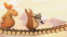 The Bridge – Animated short film Film Gif, Film D'animation, Short Film Youtube, Movie Talk, Disney Shorts, School Videos, My Minion, Educational Videos, Kids Videos