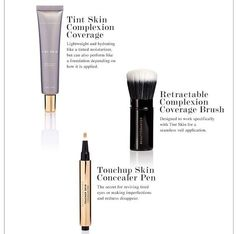 I've finally found the BEST tinted moisturizer that can cover like a foundation: Tint Skin by Beautycounter. Tint Skin AND Dew skin are now my new favorites! The Concealer Pen and Retractable Brush are must haves as well. Click here to visit the website to see the guide to choosing the perfect shade.