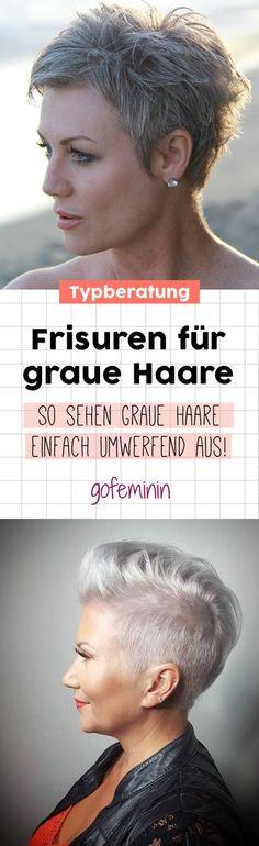 Grey is the new Black: 30 Frisuren für graue Haare