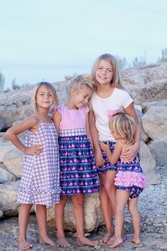 Hannah Kate ~ adorable coordinating girls' clothing