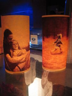 Photo paper lanterns