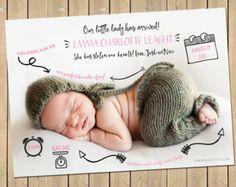 Merci de considérer BabyBaloo pour vous aider à annoncer votre nouveau forfait précieux au monde ! Cette annonce adorable est entièrement
