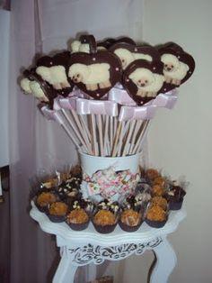 Pirulitos de Chocolate - Fonte: Doce Estillo