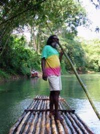 Book an excursion - Martha Brae River Rafting and Dunn's River Falls Tour from Ocho Rios