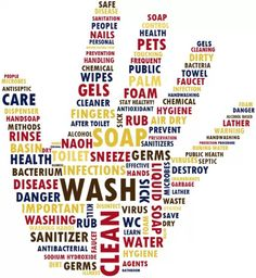 Germs, Germs, Everywhere! Wash your hands regularly :)