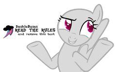 MLP Base: Im best pony by DashieBases on DeviantArt