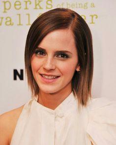 Emma Watson Straight Short Hair