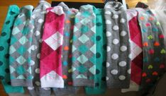The BEST legging diy I have found. Easy to sew and lets you keep the sock portion...for, well...socks. A 2 for 1 on the cost.