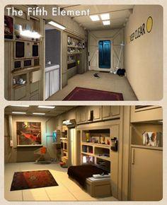 Fifth Element apartment